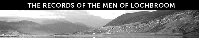 RECORDS OF THE MEN OF LOCHBROOM | 1914 - 1918